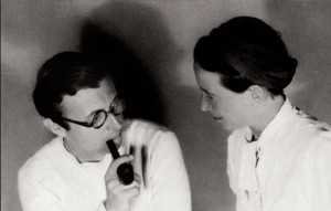Simone de Beauvoir y Jean Paul Sartre para Alcanda Matchmaking Blog
