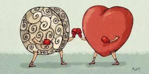 La razón versus el corazón  para Alcanda Matchmaking Blog