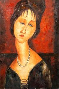 Retrato de Jeanne Hébuterne, 1917 para Alcanda Matchmaking Blog